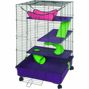 Kaytee Multilevel Habitat With Removable Casters