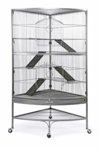 Prevue Hendryx Corner Black Ferret Cage